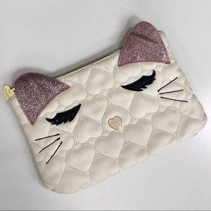 Betsey Johnson Kitty Cat Clutch